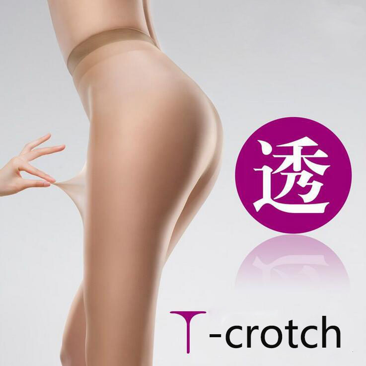 Sexy Ultra-Thin 15D Pantyhose Seamless Tights T Crotch Stockings Transparent Shaping Cored Wire Meia Calca Hot Selling CI370