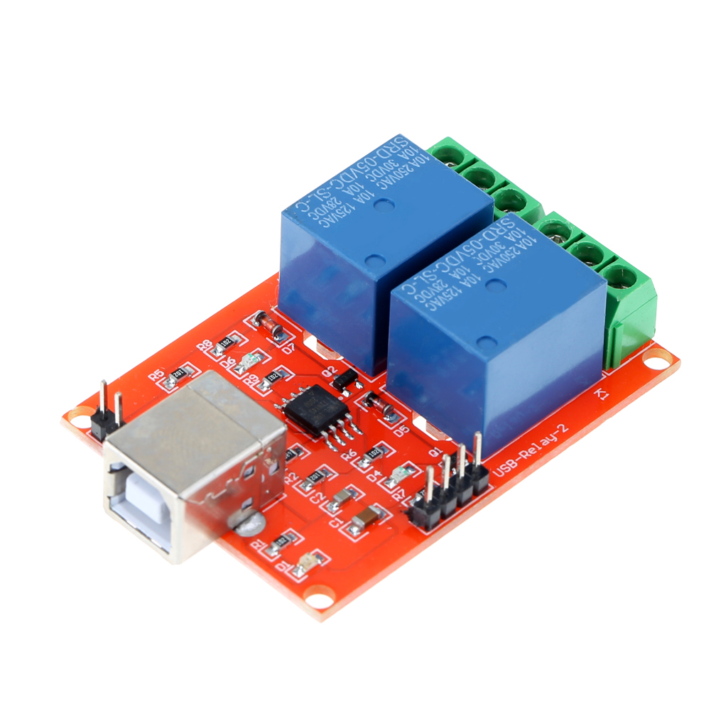 DC 5V 2 Channel USB Controlled Relay Board Relay Module Programmable Computer Control For Smart Home микроволновая печь свч bbk 20 mws 708 m bs