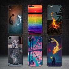 Case for Fire-Cat-Cover Natural-Landscape-Case iPhone Xs Matte 5 5s 7/8/6/.. Max