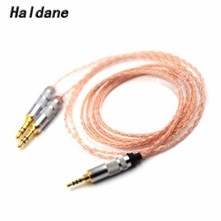 Free Shipping Haldane 2.5mm TRRS Balanced 8 core Litz braid Headphone Upgrade Cable for MDR-Z7 Z7M2 MDR-Z1R D600 D7100