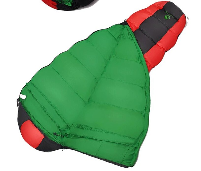 Jungle King 2017 thickening fill four holes cotton sleeping bags outdoor camping mountaineering special camping  bag movement 6