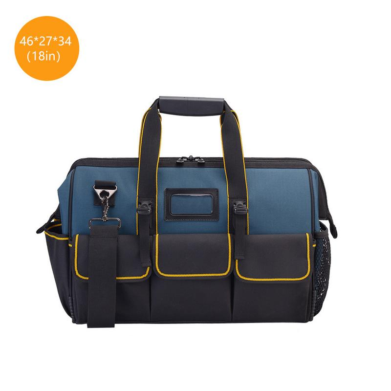Multifunction Tool Bag Large Capacity Thicken Professional Oxford Cloth Repair Tools Bag 14 inch oxford cloth canvas multifunction hand shoulder tool bag hardware repair kit