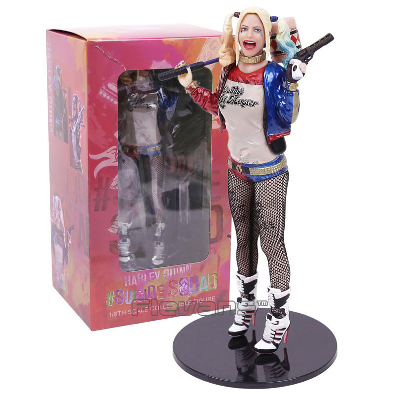 Suicide Squad Harley Quinn Statue 1/6 Scale Collectible Figure Toy 18cmSuicide Squad Harley Quinn Statue 1/6 Scale Collectible Figure Toy 18cm