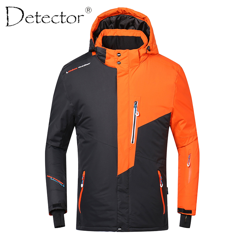 Detector Kids Boy Skiing Jacket Waterproof Windproof Skiing Coat Pant Winter Thermal Snowboard Jacket Winter Boy Coat -30 Degree freestyle skiing ladies aerial qualification pyeongchang 2018 winter olympics