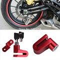 6mm Red Motorcycle Ciclismo Da Bicicleta Da Bicicleta Da Roda Freio A Disco Rotor De Segurança Seguro Locker