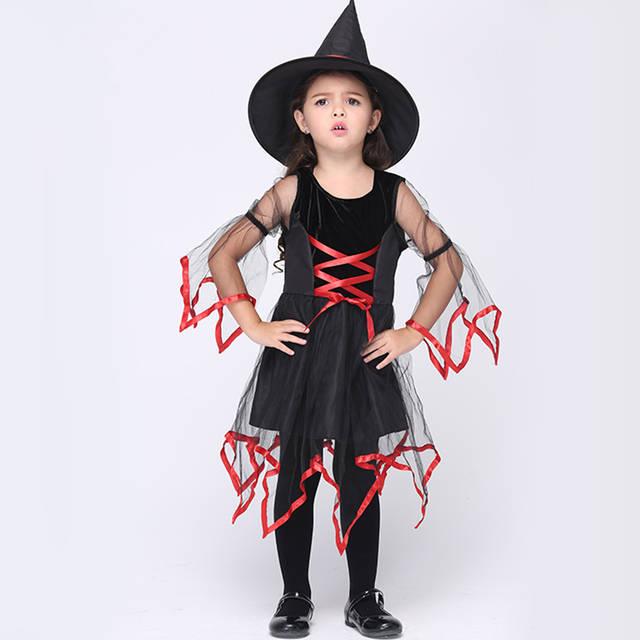 454e446ff Online Shop Kids Girls Halloween Costumes 95-135 CM Girls Halloween ...