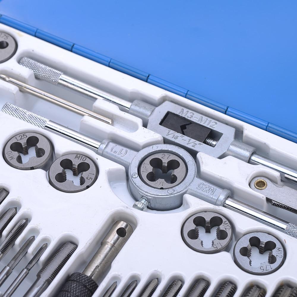 40 tk legeeritud terasest kraani- ja die-komplekti keermetööriist - Käsitööriistad - Foto 5