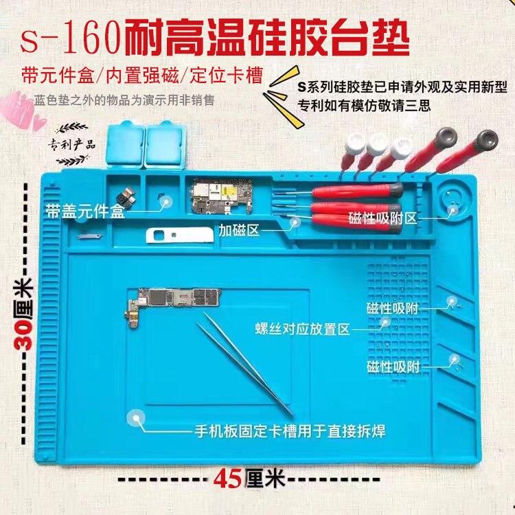 Цена за Высокая температура обслуживание площадку BGA Паяльная Ремонт Станции для iphone xiaomi сэм ремонт оборудования
