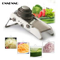 ONNPNNQ Manual Vegetable Cutter Mandoline Slicer Potato Cutter Carrot Grater Julienne Fruit Vegetable Tools Kitchen Accessories
