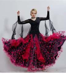 Красный бального танца Конкурс платья бахрома женские бальные платья стандартные танцевальные платья Бальные Вальс платья Костюм для