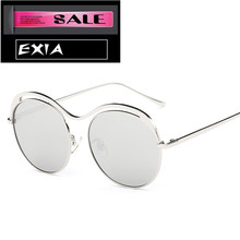 Round Frame Sunglasses Retra Design Women Eyewear EXIA OPTICAL KD-0755 Series