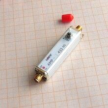 433 MHz baixo ruído, amplificador de alto ganho LNA limitador e VIU filtro embutido