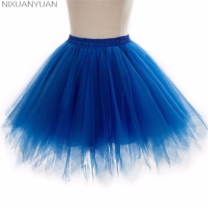 Flower Girl Mini Rainbow Tulle Petticoat Girls Puffy Crinoline Underskirts For Short Dresses Petticoat Kids UnderSkirt