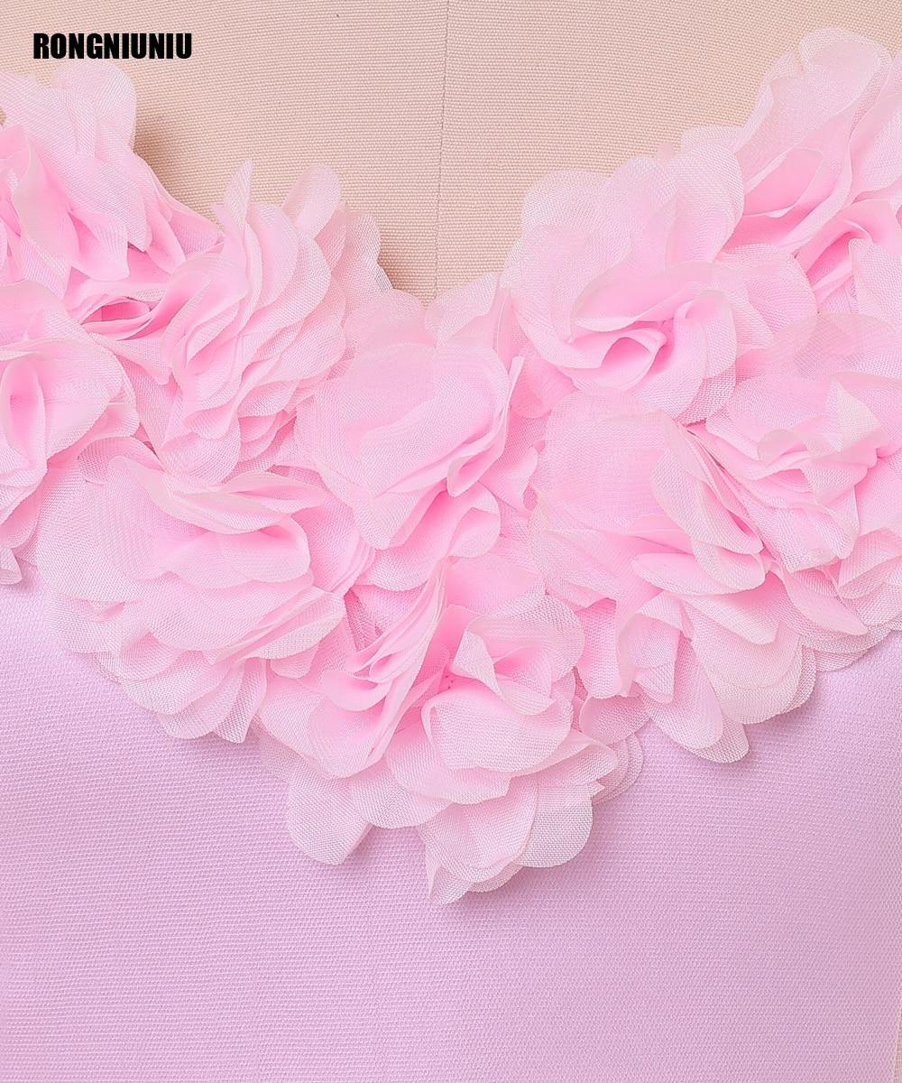 Aliexpress.com: Comprar Vestido de novia 2017 Pink Flowers Lace Up A ...