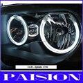 For Hyundai Getz 02-05 Car CCFL Angel Eyes Halo Ring HeadLight Kit with 4pcs ccfl angel eyes and 2pcs ccfl inverters