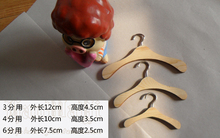 10pieces lot full measurement bjd sd doll wood hangers for BJD doll accessories