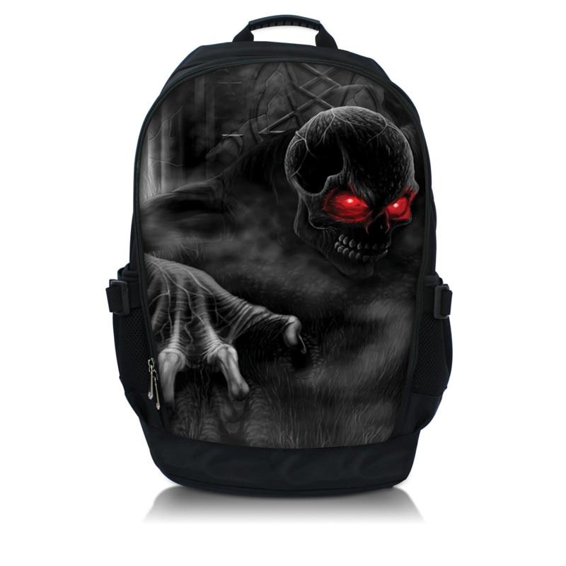 Skull Laptop Backpack Sling Bag Rucksacks Book School Bags Up To 156 InchChina