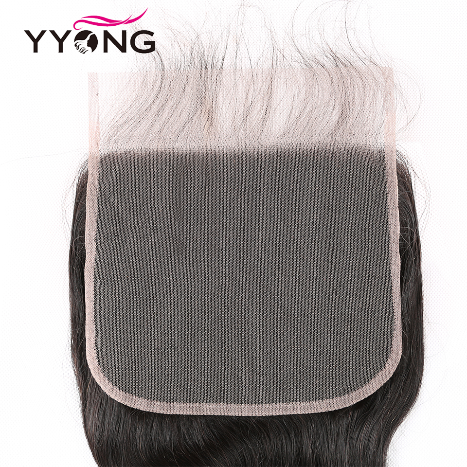 Yyong Hair 8x8 Lace Closure   Body Wave Closure 14-24 Inch Free Part 100%  Swiss Lace Closure 4