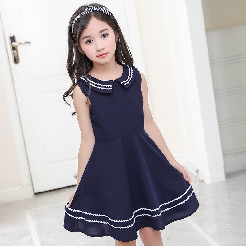 цены elegant little girls dresses summer 2018 big girl dress teenage clothing kids dresses size for 3 4 5 6 7 8 9 10 11 12 years