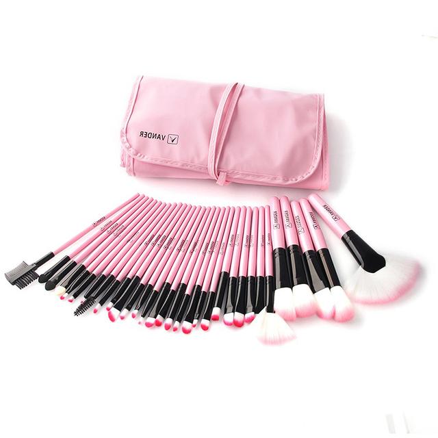 32Pcs Set Professional Makeup Brush Set