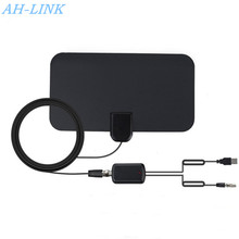 Get more info on the AH-LINK 1080P Indoor TV Antenna Digital HDTV Antenna 150 Mile 4K VHF-H/UHF DVB-T DVB-T2 surf radio Ultra-thin TV Aerial Radius