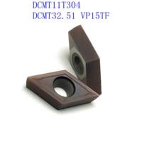 vp15tf ue6020 20PCS DCMT11T304 / DCMT32.51 VP15TF / UE6020 / US735 קרביד להב פנימי מפנה מחרטה כלי CNC גַיֶצֶת כלי (2)