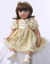 Muñeca reborn de 55 cm Vestido con lentejuelas – Colección Limitada