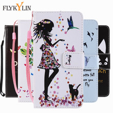 FLYKYLIN Flip Leather Case on sFor Fundas Samsung Galaxy S3 S4 S5 Mini S7 S6 edge S8 S9 Plus Coque Wallet Cover Phone Case Capa