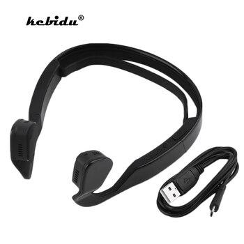 kebidu Bone Conduction Bluetooth Wireless Headphone Noise Cancellation Sports Earphones Stereo HD Voice Headset fone sem fio