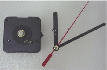 New Clock Movement Mechanism Parts Red Second Hand Repair Replacing DIY Quiet Silent Clock Essetial