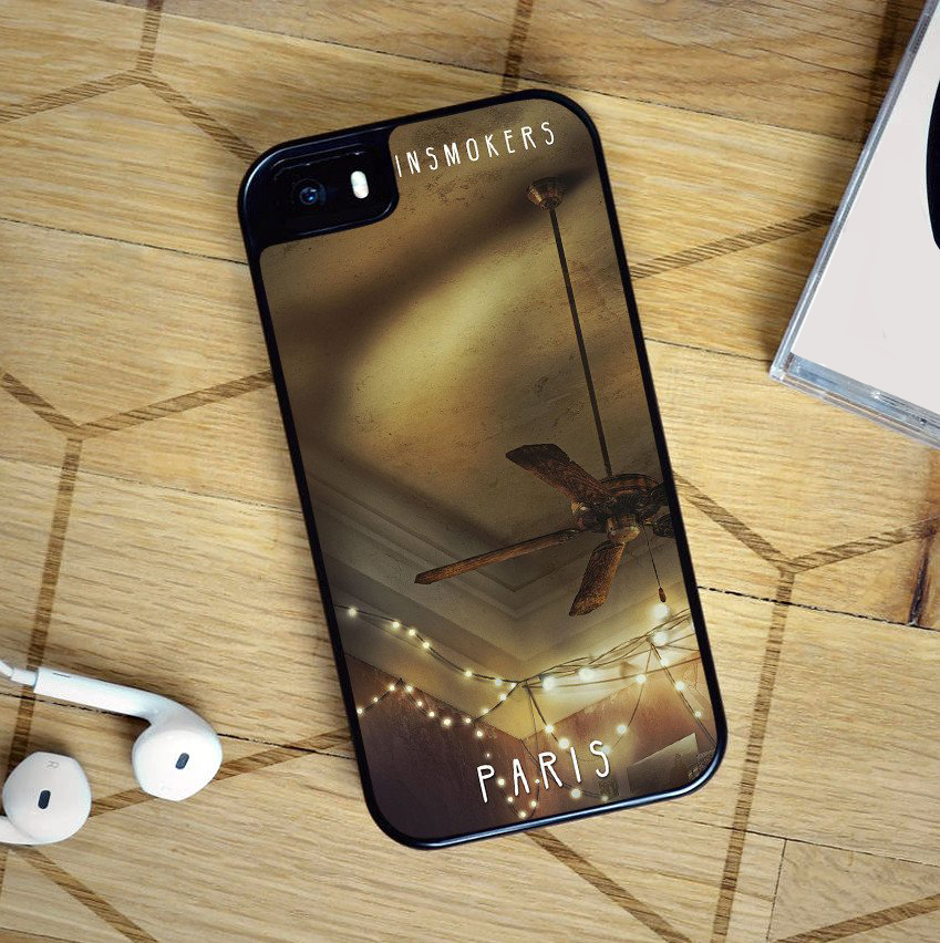 the chainsmokers paris fashion cell phone case for iphone 4 4s 5 5s se 5c 6 6s 6 plus 6s plus 7. Black Bedroom Furniture Sets. Home Design Ideas