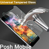 Universal Tempered Glass Film For Posh Mobile Revel Pro X510/S500 5.0inch 9H 2.5D Screen Protector For Posh Mobile Titan HD E500