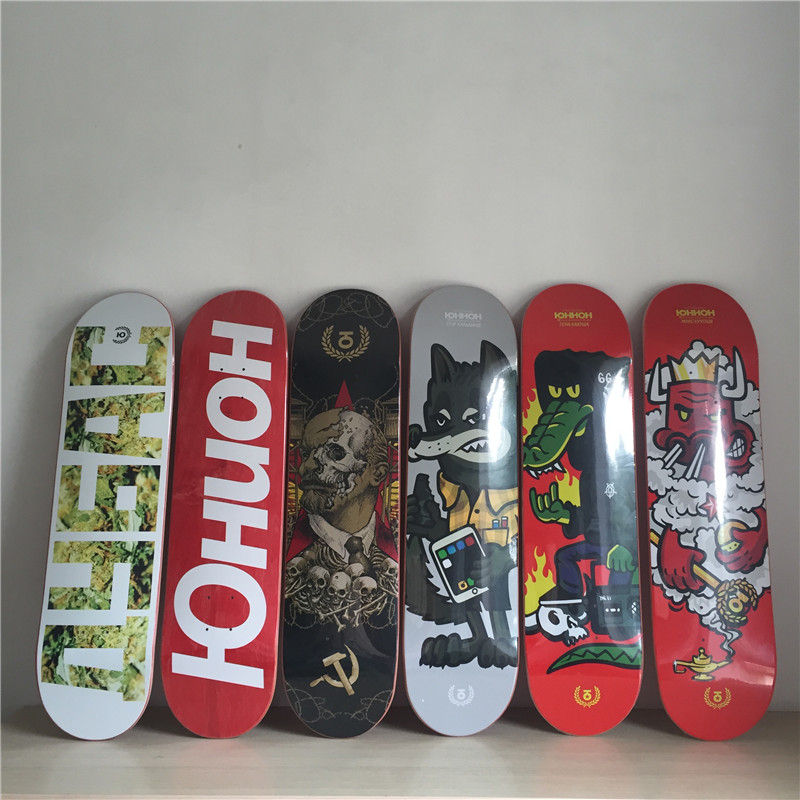 цены  Graphics Skateboard Decks Canada Maple 8