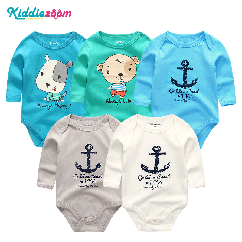 Baby Boy Rompers Clothes White Long Sleeve Jumpsuit 2018 Summer Newborn Disfraces Infantiles 0-12 Months Cotton roupas meninos