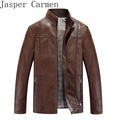 free shipping Men's Leather Jackets And Coats Male Leather& Suede Slim Clothing Soft Faux Leather Clothes For Man Size M-3XL 268