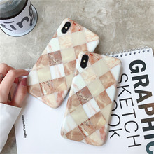 Cool diamond style Marble phone cases for iPhone XS MAX coque For Apple X 8 7 plus 6 6s