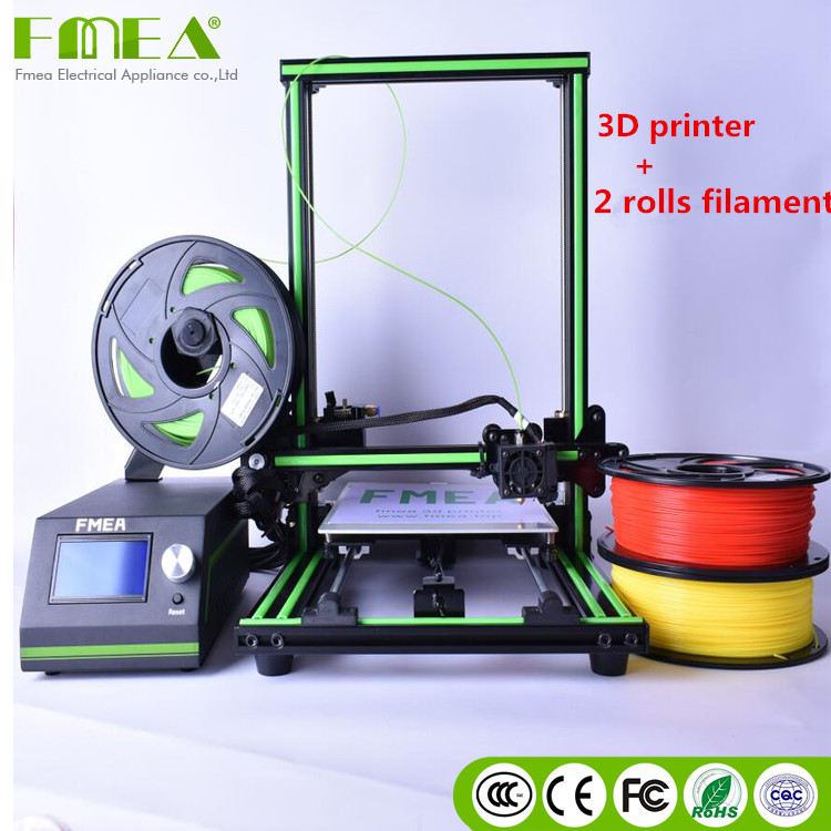 US $314 1 10% OFF|FMEA 3d printer Large format industrial digital phone  case liquid photopolymer resin for sla 3d printer price-in 3D Printers from