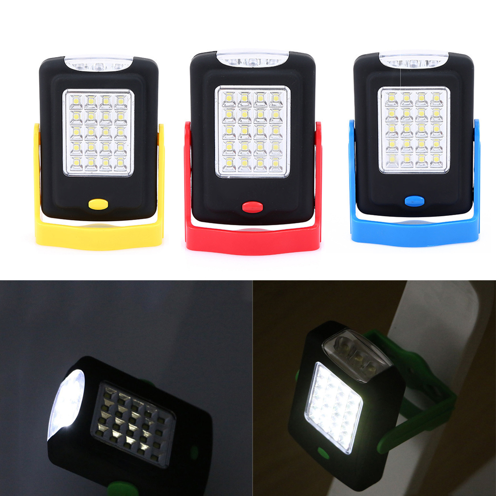 New LED Camping lights 23 LEDs 2 Modes Torch Lighting Emergency Lamp Battery Powered Work Light Outdoor Tent Lamps Flashlights