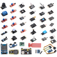 Free Shipping 45 In 1 Sensor Modules Starter Kit Without Plastic Box