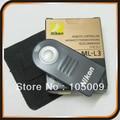 Control remoto ml-l3 ir inalámbrico para nikon d80 d90 d300 d5100 d3000 d7000 d5200 d7100 d7000 v1 j1