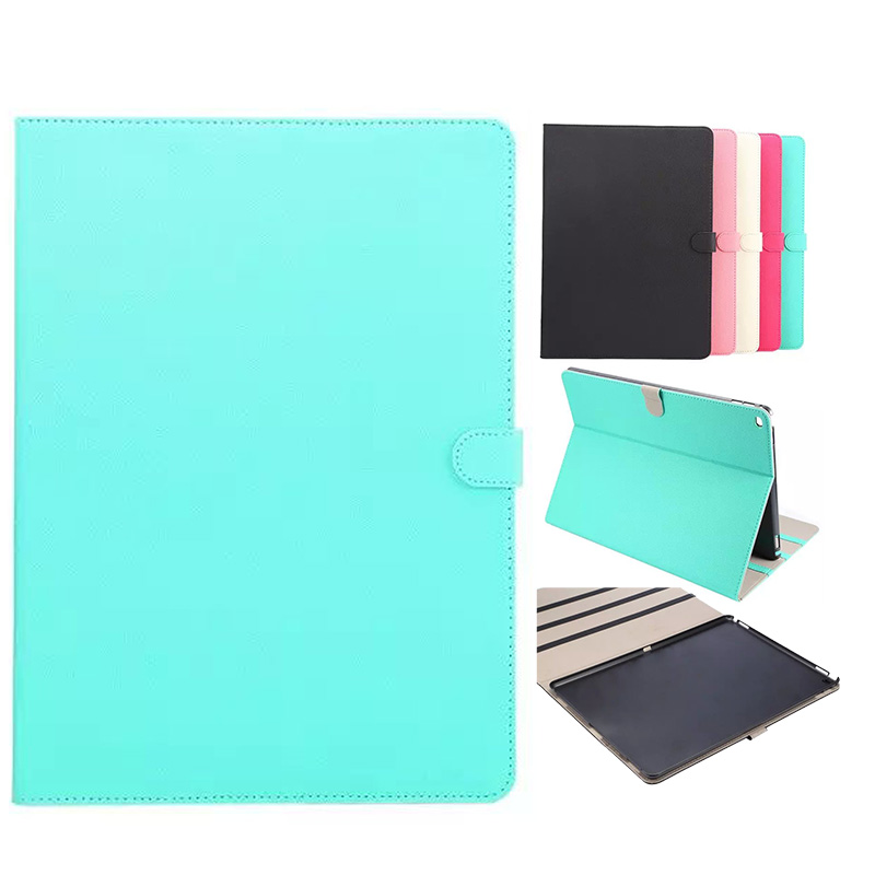 Fashion lucky pattern Pure Tablet Case For Apple iPad Pro 12.9 inch Stand Holder Credit Card Slot Frame Flip Cover For iPad Pro