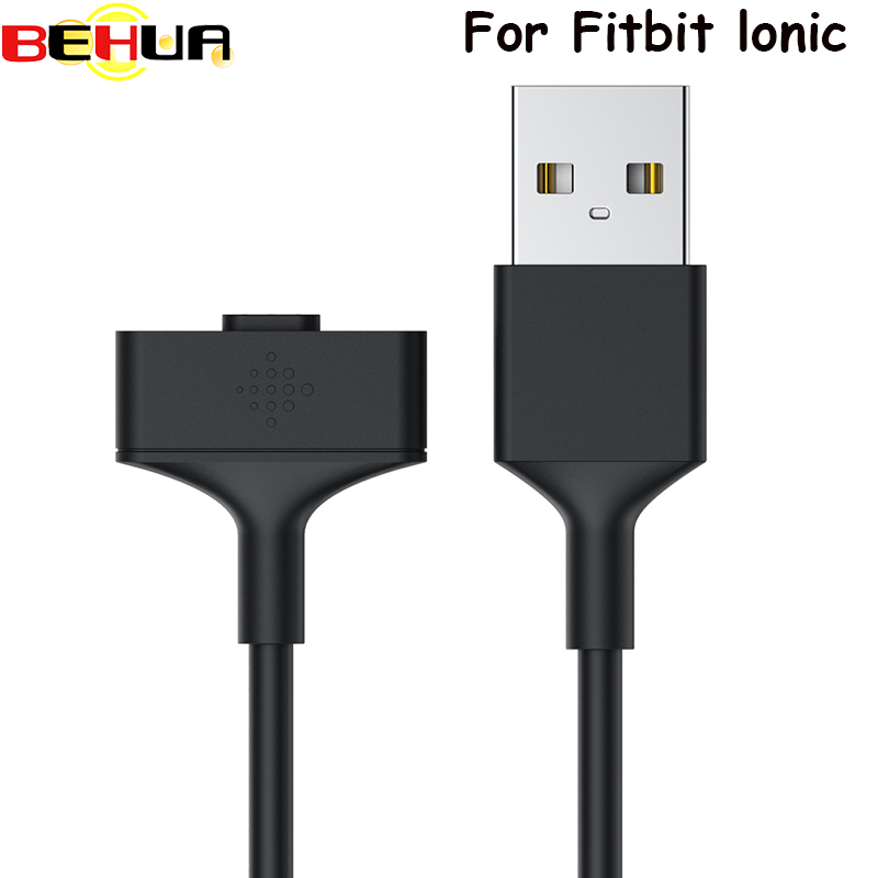 1M Magnetic USB Charging Cable Cord For Fitbit Ionic Smartwatch Charger Replacement USB Cable For Fitbit Ionic Watch Accessories