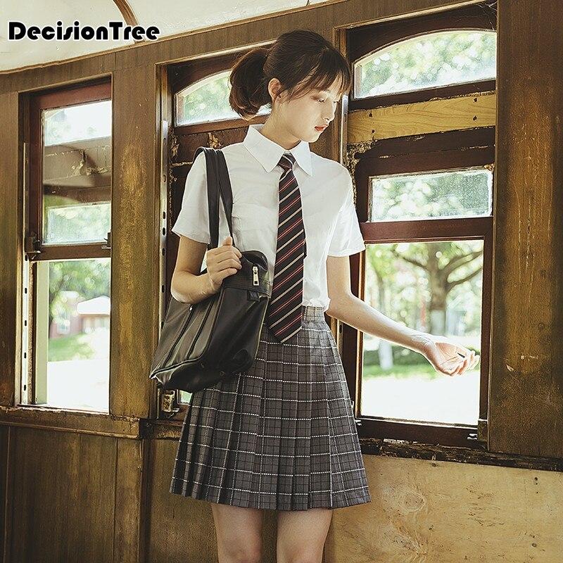 2020 Japanese Korean Schoolgirls School Wind Suit Uniforms Class Service Jk Uniforms Pants Skirt Costumes