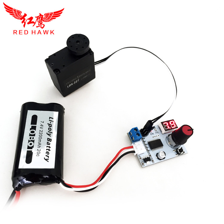 universal servo tester with voltage display for DIY the servo of RC ...