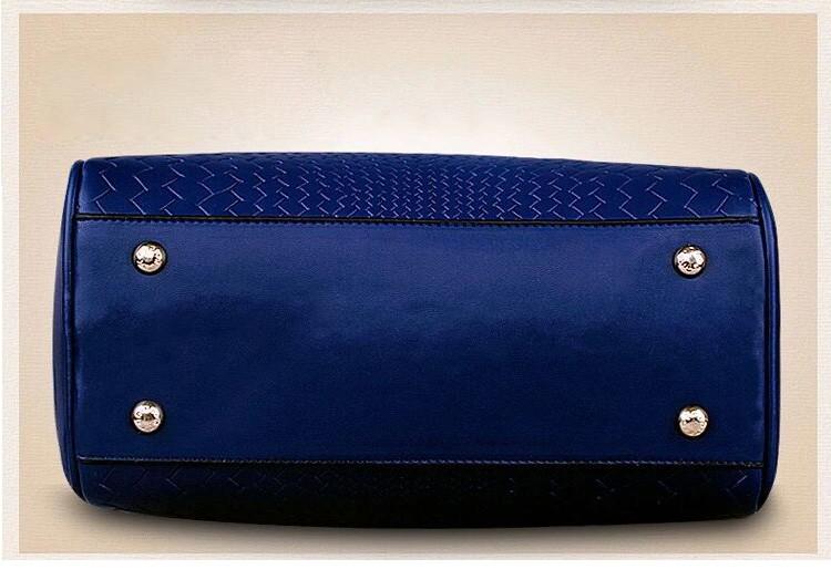 2015 Autumn New Arrival Women Weave Tassel Women PU Leather Handbags Women Shoulder Bag Ladies Casual Messenger Bags BH1150 (13)