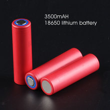 [convoy battery] 3500mAH 18650 lithium battery for sanyo