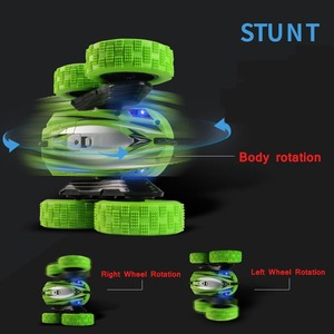 Image 3 - JJRC High Speed 3D Flip 2.4G Remote Control Stunt Drift Buggy Crawler Battery Operated Gift For Kids Multiplayer Machine Rc Car