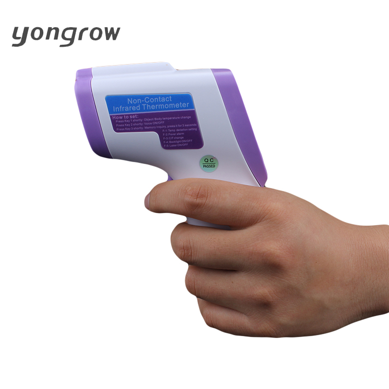 Yongrow Baby Thermometer Digital Infrared Thermometer Adult Digital Non-contact Termometro lcd Medical Temperature Device