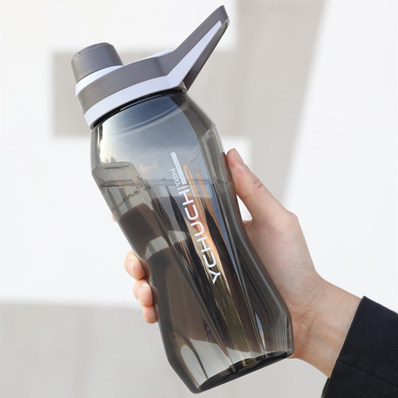 1000ml/1500ml Large Capacity Portable Sports Water Bottles Outdoor Camping Picnic Cycling Kettle Gym Fitness Shaker Water Bottle-in Water Bottles from Home & Garden on AliExpress