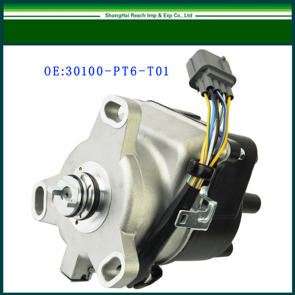 New Ignition Distributor For Honda 1999 2001 CR V CRV 2 0L DOHC OE TD 74U